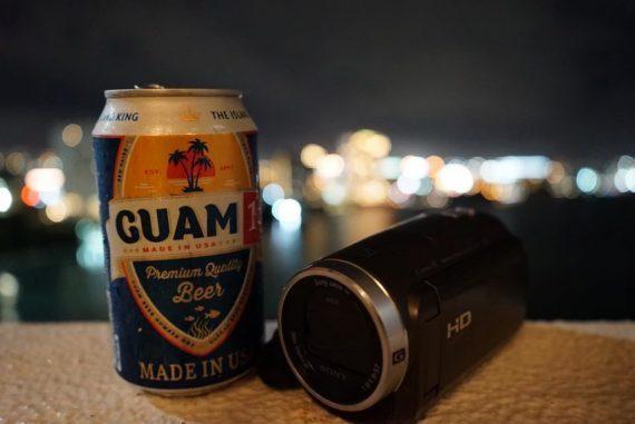 ビールとカメラ